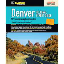 Denver CO Mapsco Street Atlas