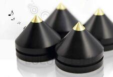 16x Indonesia Ebony Wooden Tip Spike Cone Isolation Feet AMP Speaker Turntable