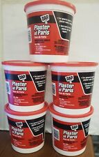New listing Lot Of 5 - Dap Professional Quality Interior Plaster of Paris Dry Mix 4Lbs Each