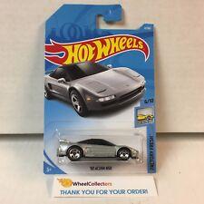'90 Acura NSX #4 * Silver * 2018 Hot Wheels Case A * D16