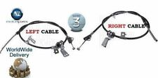 FOR SUZUKI SPLASH VAUXHALL AGILA  2008-> LEFT + RIGHT ( 2) REAR HAND BRAKE CABLE