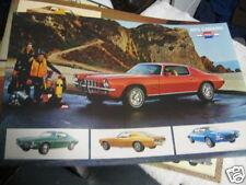 AUTHENTIC 1973 camaro dealer literature 73 chevy original chevrolet 350 4 speed