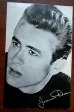 James Dean Picture Postcard  1950's  Original from Germany Auto Signature  Rare