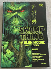 ALAN MOORE (Watchmen, V wie Vendetta) - SWAMP THING geb. Deluxe Edition Nr. 1
