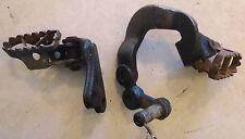 Used Yamaha 83-86 TT 600 Footpegs Foot peg Footrests & Mounting Brackets