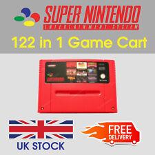 SNES Games - 122 in 1 - Super Nintendo Multi Game Cart (PAL)
