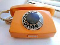 Bulgarian vintage rotary telephone.  USSR  K