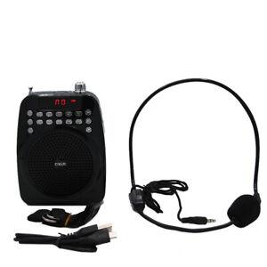 Altoparlante Audio Portatile M02 con Microfono per insegnante e guida turistica