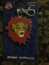 Disney The Lion King Simba Lanyard  Keychain I Metal New