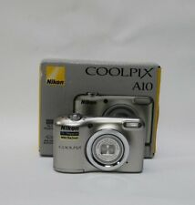 Nikon COOLPIX A10 16.0MP Digital Camera - Silver * UK STOCK