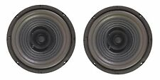 "NEW PAIR (2) MEGA BASS 6-1/2"" 6.5"" FULL RANGE Dual Cone Car Speaker Sub Woofer"