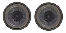 "NEW PAIR (2) MEGA BASS 6-1/2"" 6.5"" FULL RANGE Dual Cone Car Speaker Sub Woofer"
