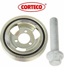 For Mini Engine Harmonic Balancer Crankshaft Pulley Vibration Damper & Bolt