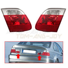 Rear Lamp Clear Tail Light  Left & Right  For BMW 3-Series E46 4 Door 2002-2005