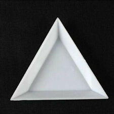 Hollow White Plastic Tray for Sorting Pearls Gems Stones Beads and Findings Jewelry Tool 4 x 2-1//2 x 1//2
