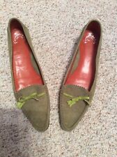 Fieramosca & Co Suede loafer with kitten heels - size 10