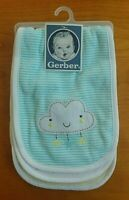 Gerber Neutral Green Burp Cloth/Towel (set of 3) - FREE SHIPPING