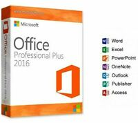 MICROSOFT OFFICE 2016 PROFESSIONAL PLUS 32Bit64 GENUINE key Instant delivery🔥🔥