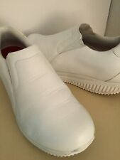 New listing Skechers shape up work white leather sneaker shoes US size 9.5 Euro 39.5