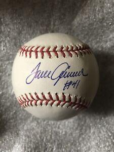 Tom Seaver Signed Baseball PSA/DNA Certified Inscribed #41