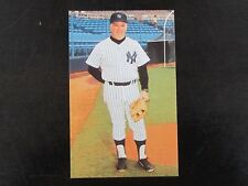 1985 Tcma New York Yankees Stump Merrill Postcard