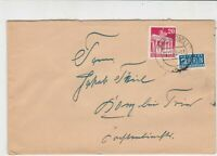 German 1949 Alf Mosel Cancel Obligatory Tax Aid for Berlin Stamps Cover Ref26799