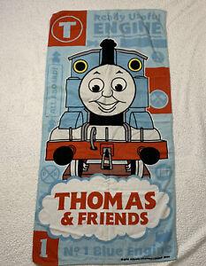 "Thomas & Friends Beach Bath Towel Thomas the Tank Engine 55"" x 27"""