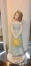 Enesco Porcelain Age Eleven (11) Amazing Events Doll - Caucasian Brunette