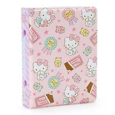 Hello Kitty pocket file (6 hole ring binder) Sanrio Kawaii Cute F/S NEW