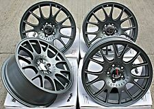 "18"" CH STYLE GM ALLOY WHEELS  FIT ALFA ROMEO 166 8C SPIDER CITROEN C4 C5 C6"