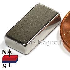 "CMS Magnetics® 500 pieces Neodymium Magnets N42 1/2x1/4x1/8"""