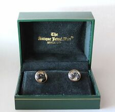 10 kt. Crystal Terrier Cuff Links