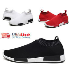 Athletic Men's Casual Sneakers Walking Tennis Slip on Shoes Gym Running Sports