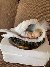 Bradford Exchange Thomas Kinkade Christmas Blessings Baby Jesus Figurine Rare