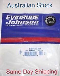 NEW Genuine EVINRUDE / JOHNSON Tilt Trim Cylinder Seal Kit. 1974 - 1988 174520