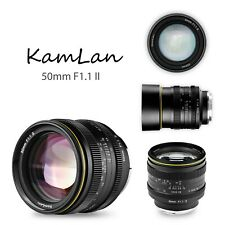 50mm F1.1 II APS-C Large Aperture Manual Focus Lens For Sony E Mount Camera