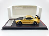 1:64 Ignition Nissan Skyline GT-R NISMO Z-Tune R34 Gold JDM IG1875 Macau GP 2019