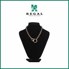 Beauty Gonzalez - Circle Chain Necklace- Regal Jewelry Collection