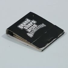 GRAND THEFT AUTO SAN ANDREAS PS2 GAME PROMO RARE BOX OF MATCHES MATCH BOOK