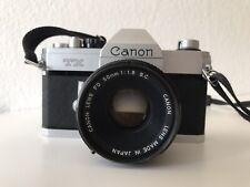 Canon TX Spiegelreflex-Kamera & Objektiv FD 50mm