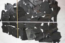 Lammleder 0,9 mm Dick Stretchvelour Schwarz Bekleidungsleder Stretchleder A144