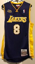 Kobe Bryant NBA Finals Lakers Jersey #8 2000-01 Size Large (44)