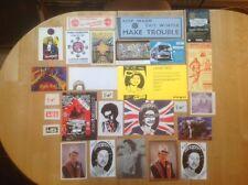 Sex Pistols Jamie Reid 27 Original Flyers Postcards Stickers Punk Sid Vicious