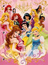 Disney Princesses 7 B/W Cross Stitch Chart
