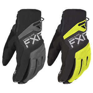 FXR Helium Glove Waterproof Micro Fleece Lining Insulated Durable Traction Palm