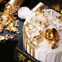 Feuille d'or comestible Feuille de cuisine Boisson alimentaire Dessert Décor