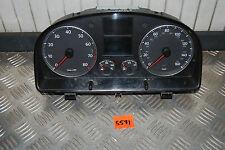 VW Touran Golf V 2.0FSI Kombiinstrument Tacho 1T0920960F