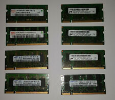 8GB (8 x 1gb) PC2 Laptop Memory DDR2 _ Samsung Hynix Micron