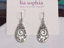 Beautiful Lia Sophia DAY DREAMER Dangle Earrings, NWT