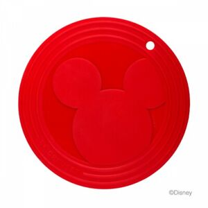 Le Creuset Mickey Trivet Cherry Red Limited Mouse silicon Heat-resistant Disney